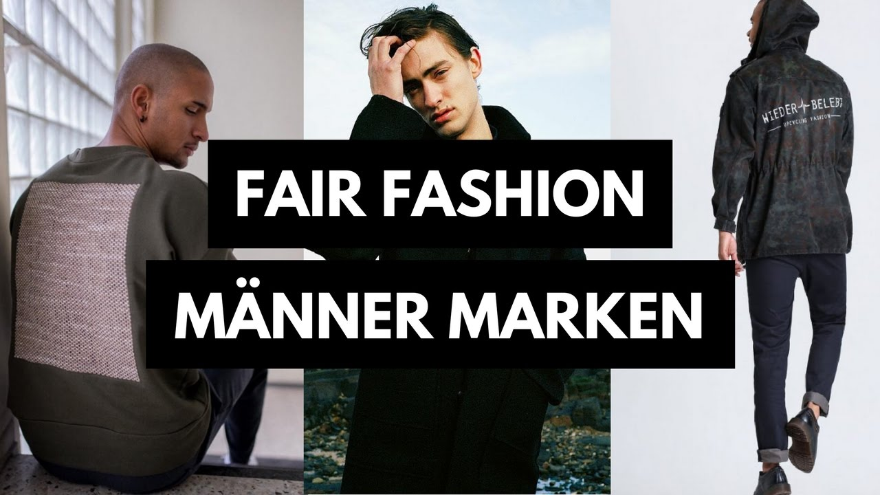 new concept 566de 2703f 22 Fair Fashion Männer Marken | Fair Fashion & Lifestyle | rethinknation
