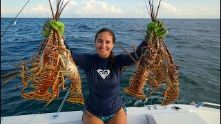 STUNG by POISONOUS MAN O' WAR While Lobstering! CATCH and COOK