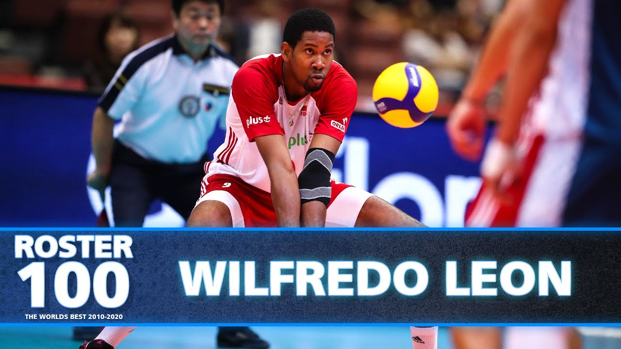 Best of Wilfredo Leon - Monster of the Vertical Jumps!   #ROSTER100   HD