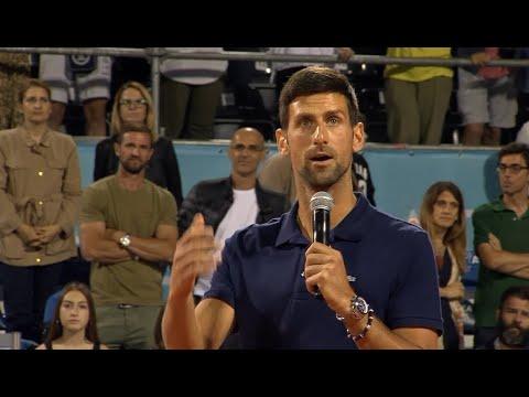 Adria Tour 2020 | Završna Ceremonija, Novakov Govor i Dodela Pehara | SPORT KLUB TENIS