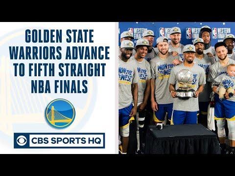 Golden State Warriors make FIFTH straight NBA Finals | Can Raptors or Bucks beat GS? | CBS Sports HQ
