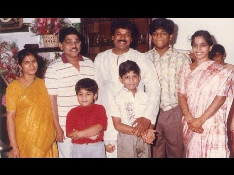 allu arjun family photos hd - tollywood celebrity