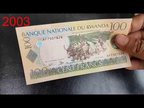 Rwanda Currency || Rwandan Franc || Beautiful African Currency note