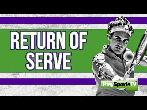 Return of Serve Drill - Coaching the Advanced Tennis Player