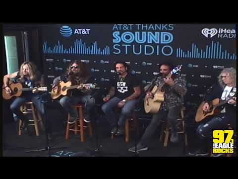 97.1 The Eagle Music Lounge - The Dead Daisies | AT&T THANKS Sound Studio