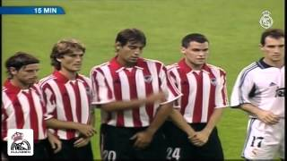 Real Madrid  4 - 1 Athletic Club Bilbao  2000/2001