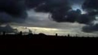 Chubasco muy fuerte acompañado con tormenta 1