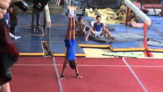 спортивная гимнастика 2 разряд Вольные