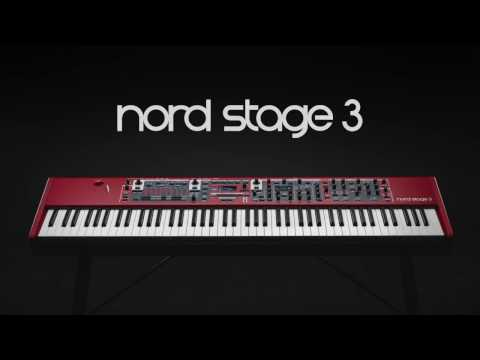 Introducing Nord Stage 3 at Musikmesse 2017