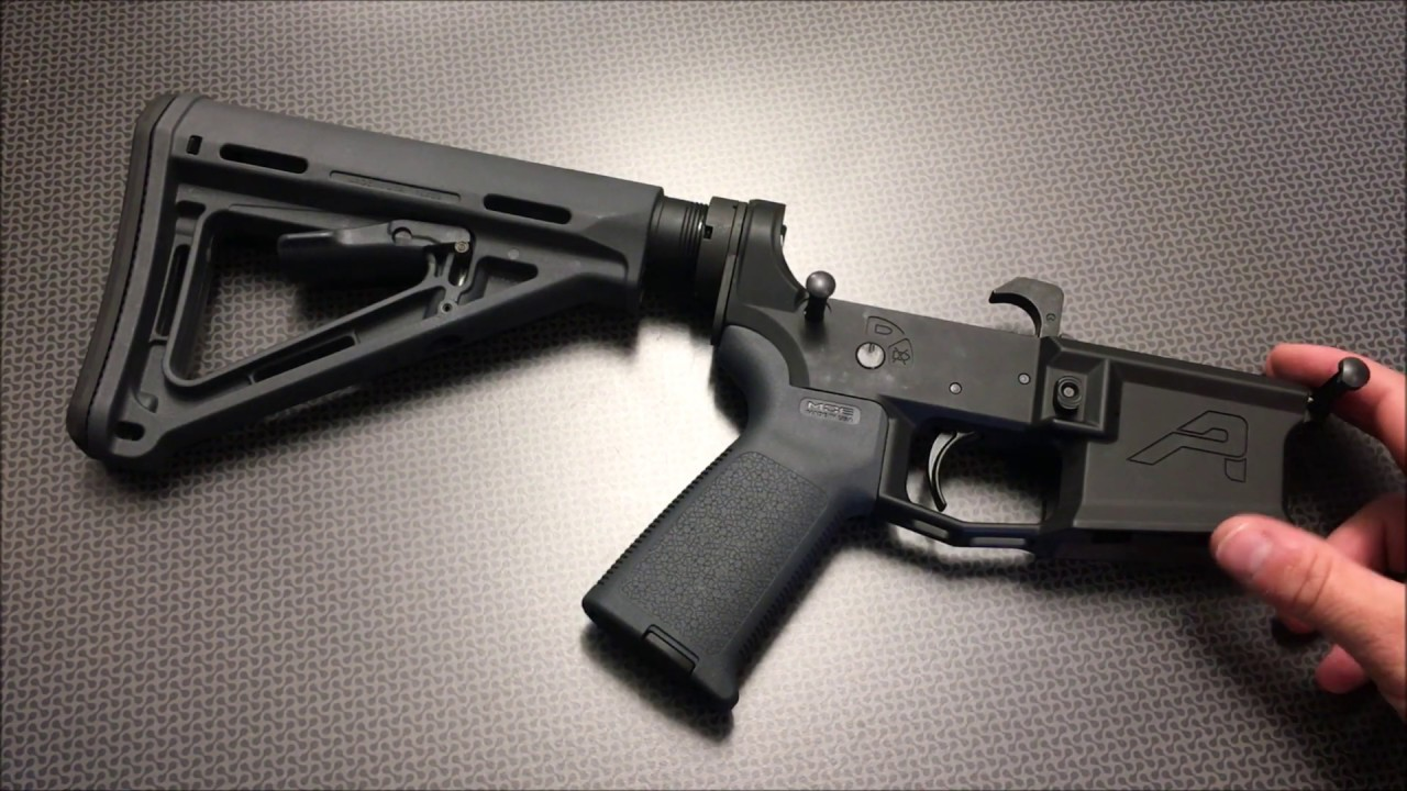 Best Stripped AR Lower For The Money (AERO M4E1)
