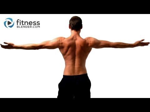 Upper Body Strength and Cardio Workout 27 Minute Upper Body Superset Workout