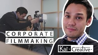 How to Film Corporate Videos | Tips & Tricks | Kai Creative