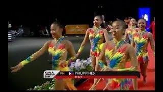 Philippines - Rhythmic Gymnastics Mixed Appratus 2 Ropes 3 Balls | Sea Games 2017