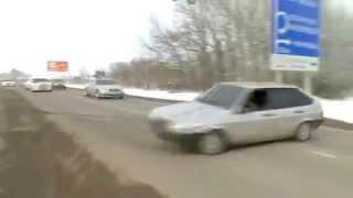 ВАЗ 2109 в Дагестане на свадьбе