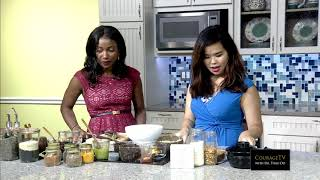 CourageTV Ep 8 - Adessa Barker with Dr. Thao Do (Cooking show)