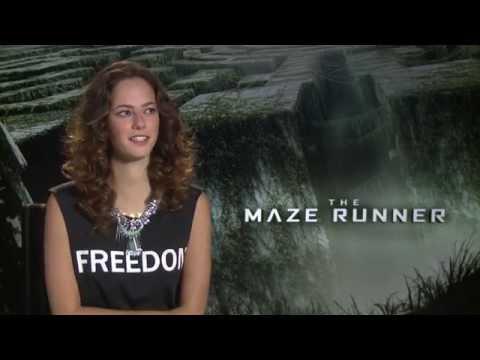 The Maze Runner - Kaya Scodelario interview