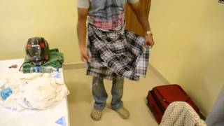 How to wear a Lungi by George Gomez