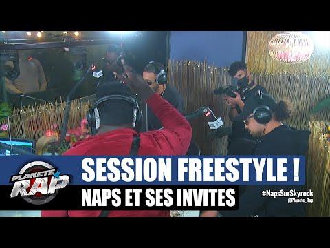 Youtube: Naps – Session freestyle avec Graya, Dika et Ivory! #PlanèteRap