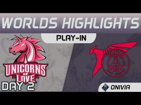 UOL Vs PSG Highlights Worlds 2020 Play In Unicorns Of Love Vs PSG Talon By Onivia