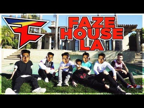 Visiting the FaZe House LA