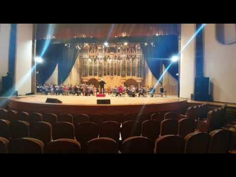 Репетиция Симфонического оркестра Самарской филармонии Группа струнных Д. Шостакович. Симфония №7 Ч2