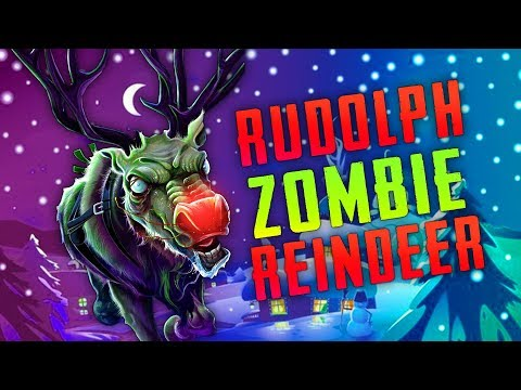 RUDOLF THE ZOMBIE REINDEER  (Call of Duty Zombies)