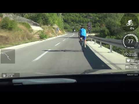 Makarska 2017 podjazd 8 km