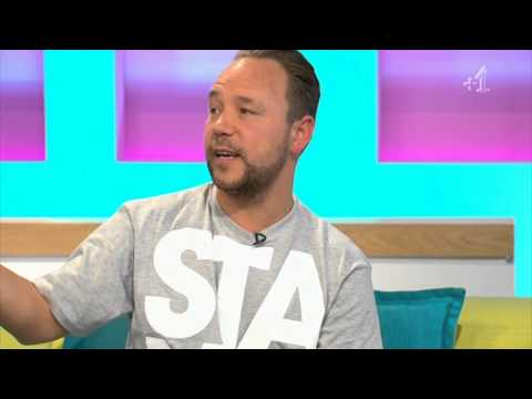 Boardwalk Empire's Al Capone Stephen Graham on UK TV 28.09.14