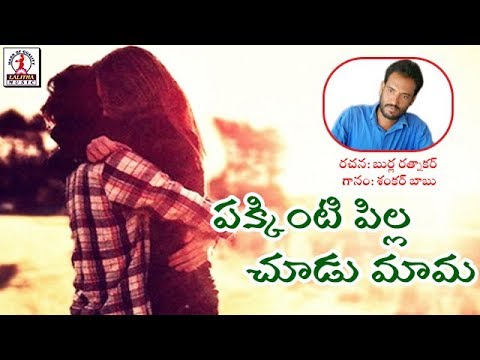 Super Hit Telangana Love Songs | Pakkinti Pilla Telugu Song | Lalitha Audios And Videos