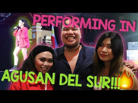 PERFORMING IN AGUSAN DEL SUR! (My first daily vlog)