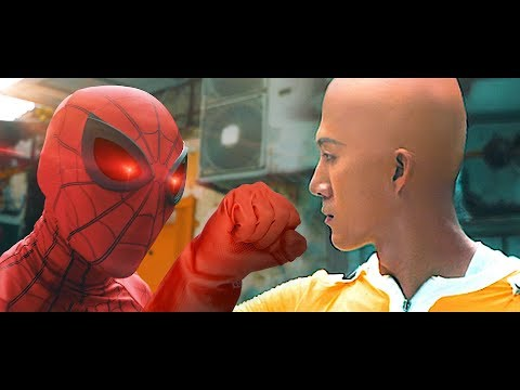 Spider-Man VS One Punch Man In Real Life [Live-Action]