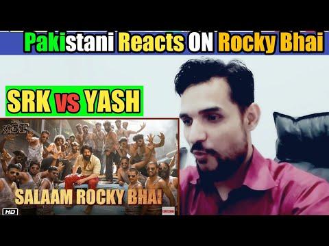 Pakistani Reacts ON | Salaam Rocky Bhai | KGF Chapter 1| Rocking Yash | Srinidhi | Reaction!!