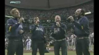BSB singing the National Anthem October 22, 2008
