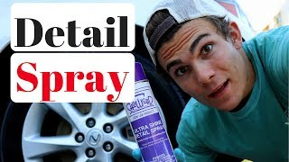 Best Car Detailing Spray: My New Favorite Product!