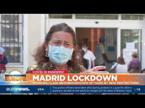 Madrid lockdown: Working class neighbourhoods hit hard by new restrictions