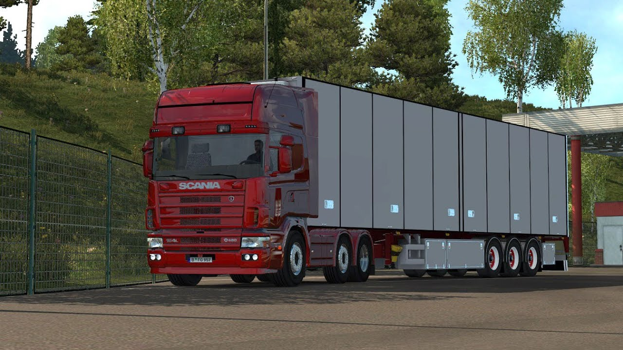 ETS 2 Scania V8 & L6 sound for the Punisher's 164L - YouTube