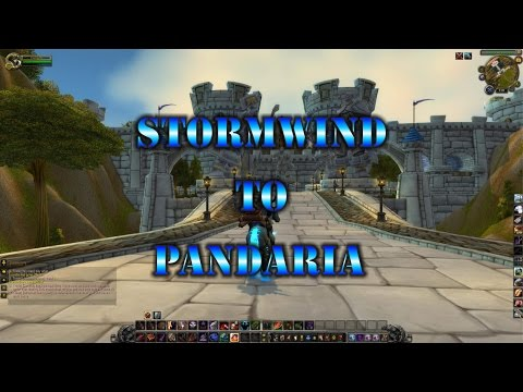 How To Get To Pandaria From Stormwind Nice And Easy