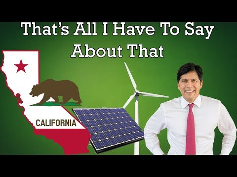 California's SB100; Becoming The Largest Clean Energy Jurisdiction