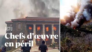 Un incendie frappe l'université du Cap et sa précieuse bibliothèque en Afrique du Sud