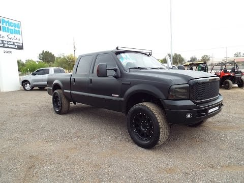 2007 ford f250 xlt super duty crew cab lifted 124 youtube. Black Bedroom Furniture Sets. Home Design Ideas