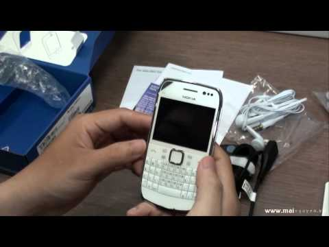 Unboxing and Review Nokia E6 - www.mainguyen.vn