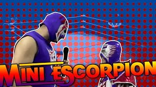 Escorpión VS el que se viste como el Escorpión
