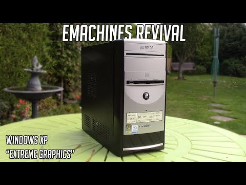 Restoring a 12 Year Old eMachines PC - And Trying To Game On It!