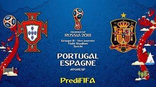 Portugal - Espagne (Coupe du Monde de la FIFA Russie 2018)