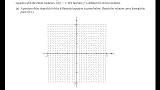 2014 ap calculus ab free response question 6