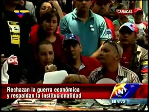Crean Frente Popular para la Defensa de la Revolución y la Paz