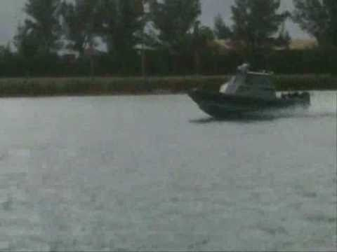 Marine Police Rush to  St George's Boat Fire - Dec 11, 2010