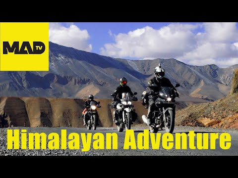 Himalayan Motorcycle Adventure - Full movie