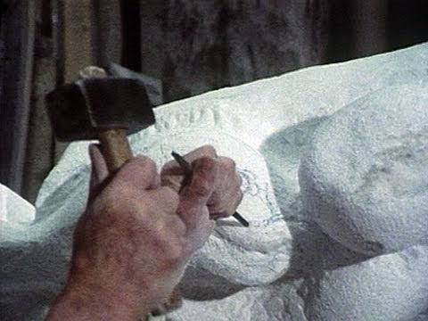 Carving Marble with Traditional Tools