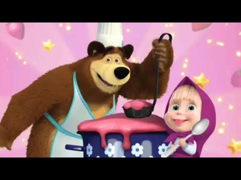 Masha And The Bear Memasak Game Anak Youtube